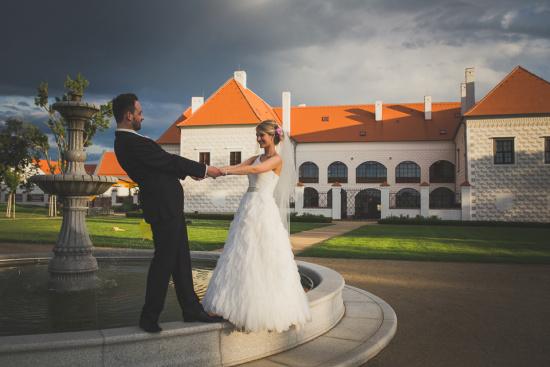 Svatba - Hotel Zámek Valeč