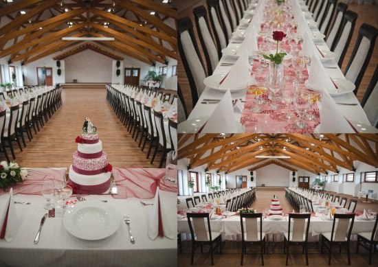 Svatební hostina, Zámek Valeč