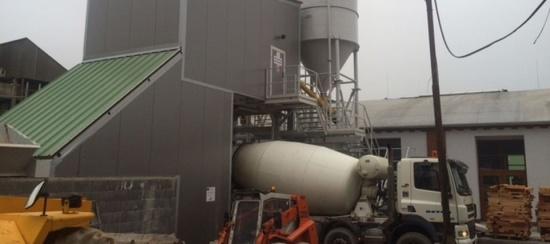 Výroba betonu, Moravský Krumlov