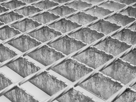 Protiskluzový ocelový rošt XSP, KASALI s.r.o., Znojmo