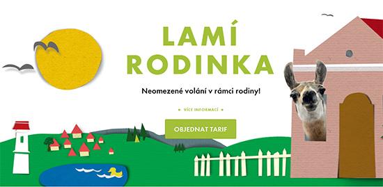 Tarify nové generace od Lama mobile