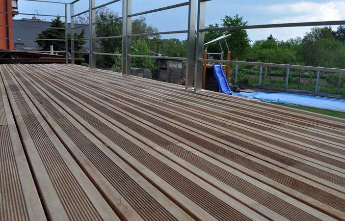Dřevěné terasy, Wood Cité, s.r.o., Uherský Brod