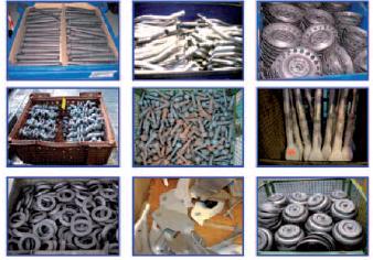Localizzazione e selezione di oggetti dalla cassa o contenitore