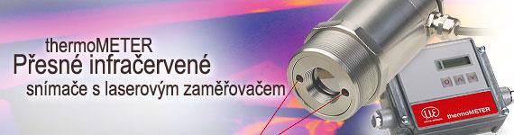 termovizní kamery a infračervené teploměry