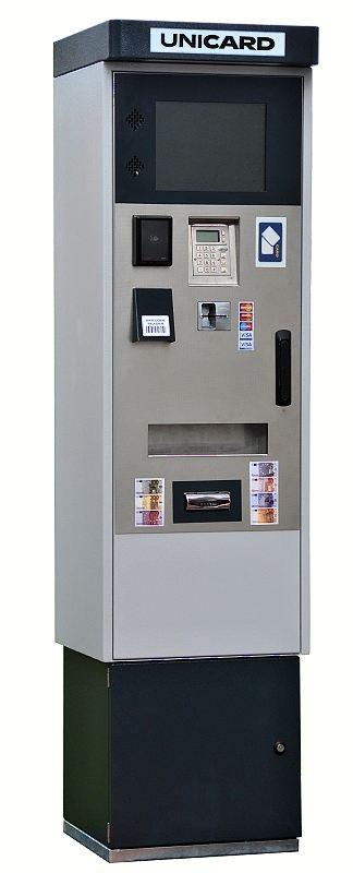 samoobslužný platební terminál