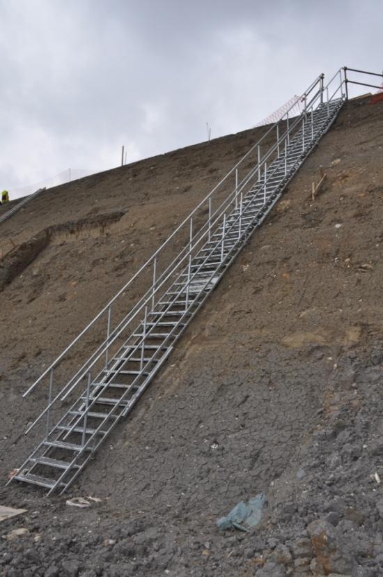 Ocelové schodiště Scaserv