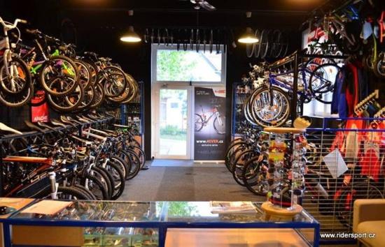 Rider Sport je zárukou kvality jízdních kol, lyží a snowboardů