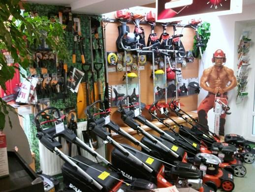 prodej i servis zahradní techniky