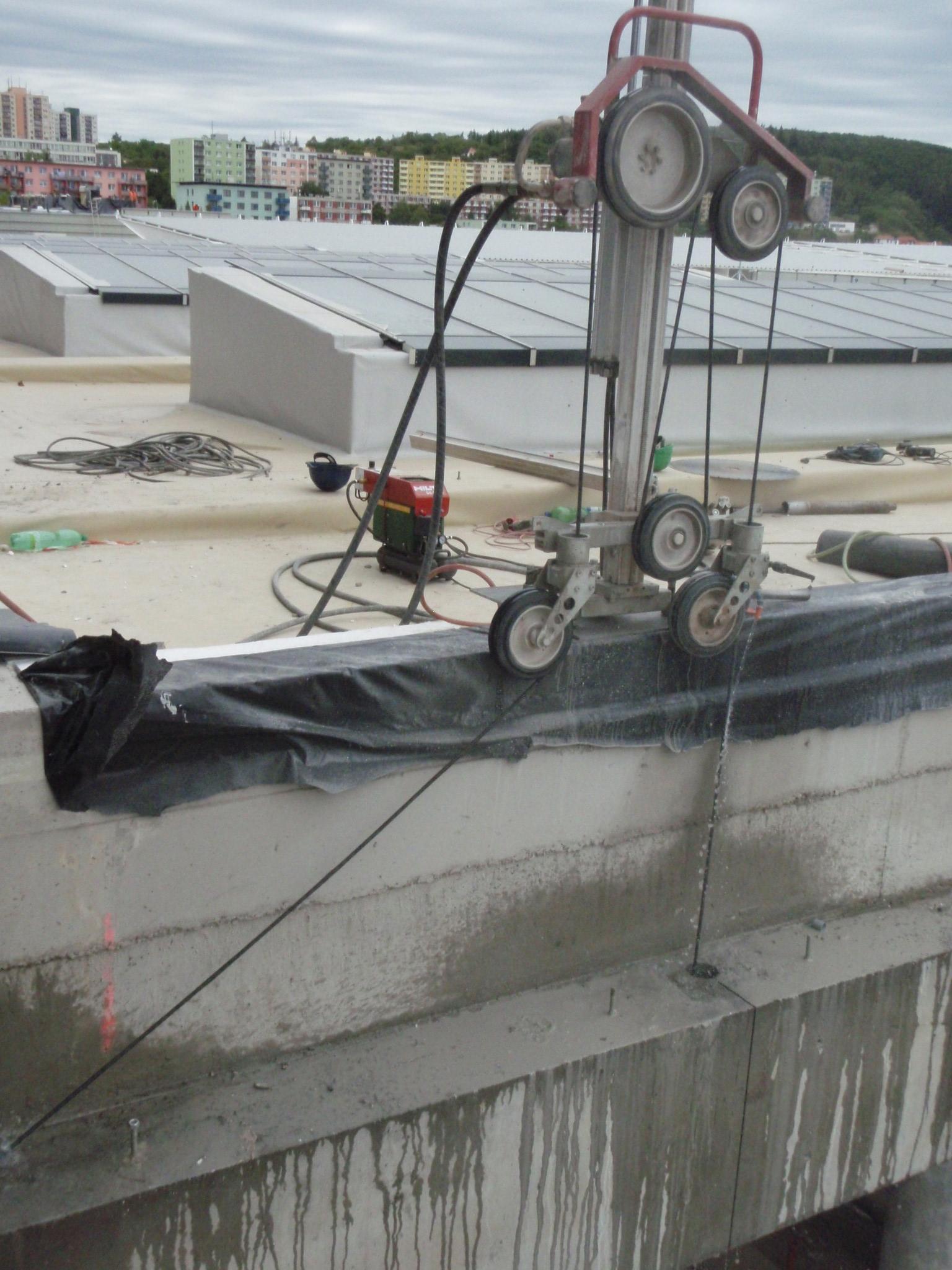 vrtání betonu