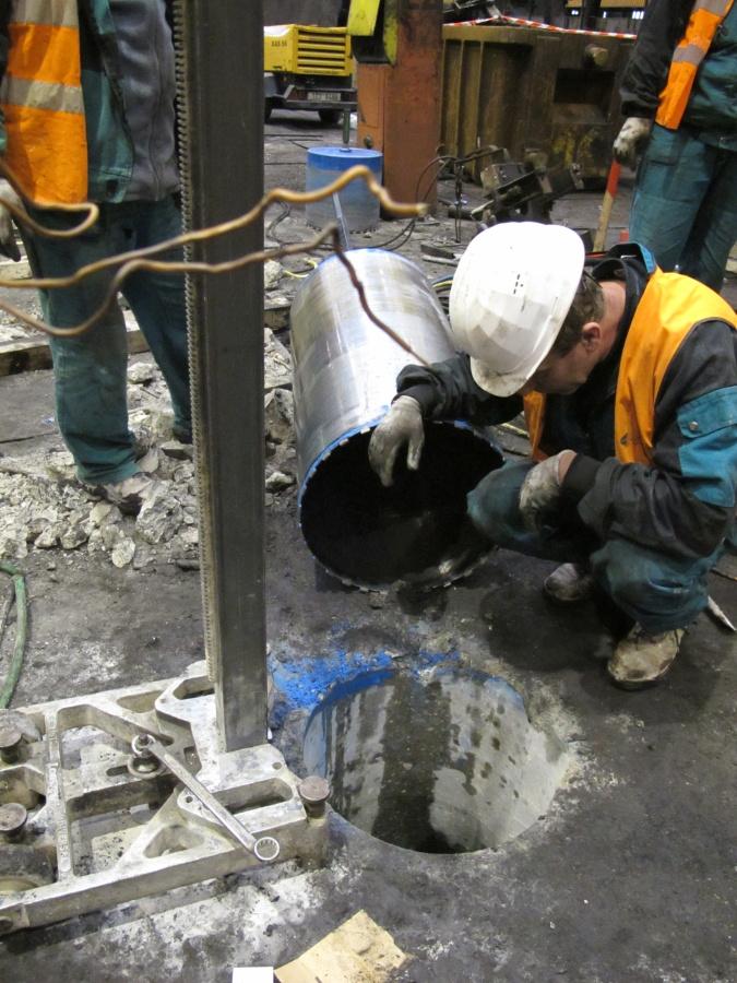 vrtání a řezání betonu