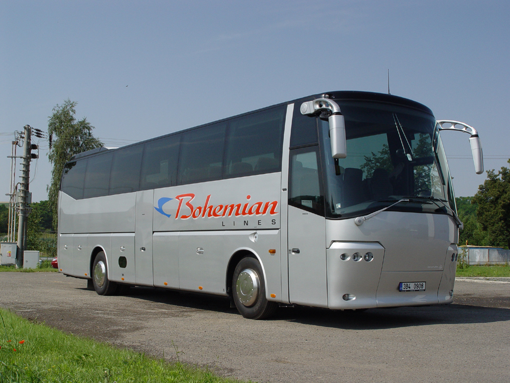 Cestujte levn� a pohodln� s autobusy BOHEMIAN LINES