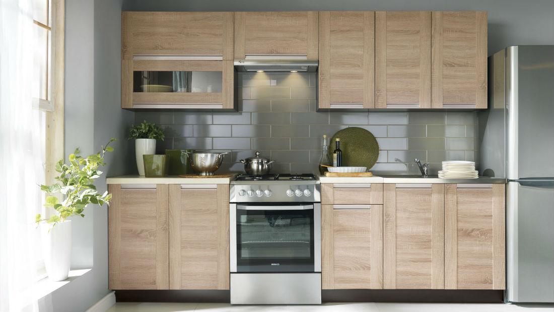 kuchyňské linky mnoha stylů