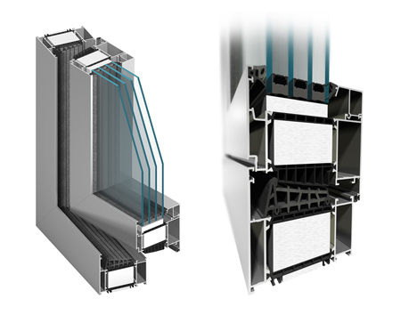 Nový okenní systém s termickou vložkou MB 104 Passive