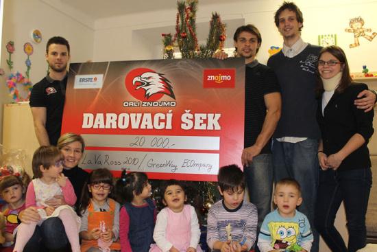 Podporujeme děti, LaVaRoss2010 s.r.o. - stavení práce