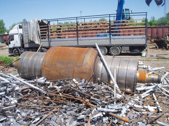 kovový odpad - výkup, prodej, zpracování