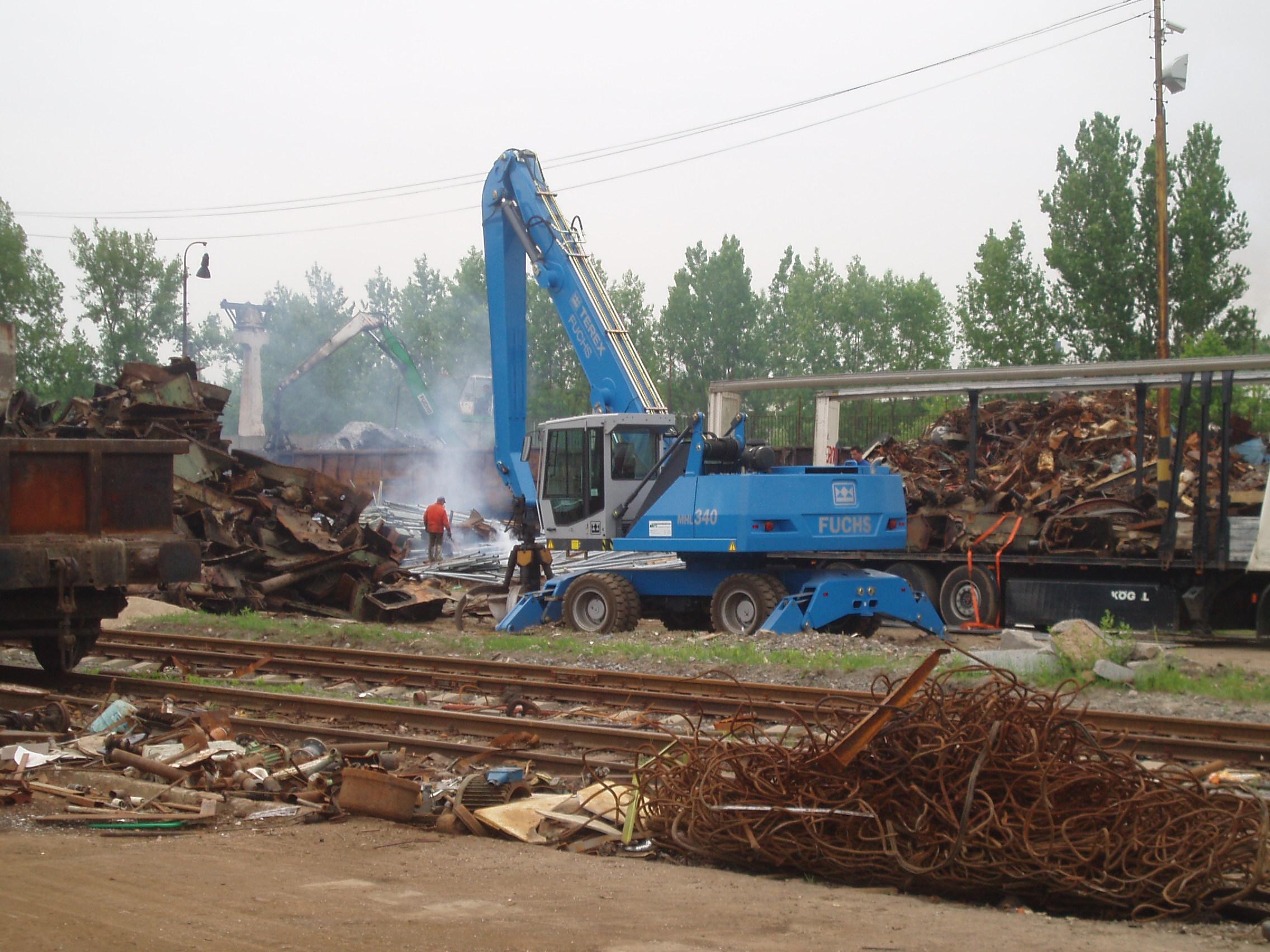 výkup a prodej kovového odpadu