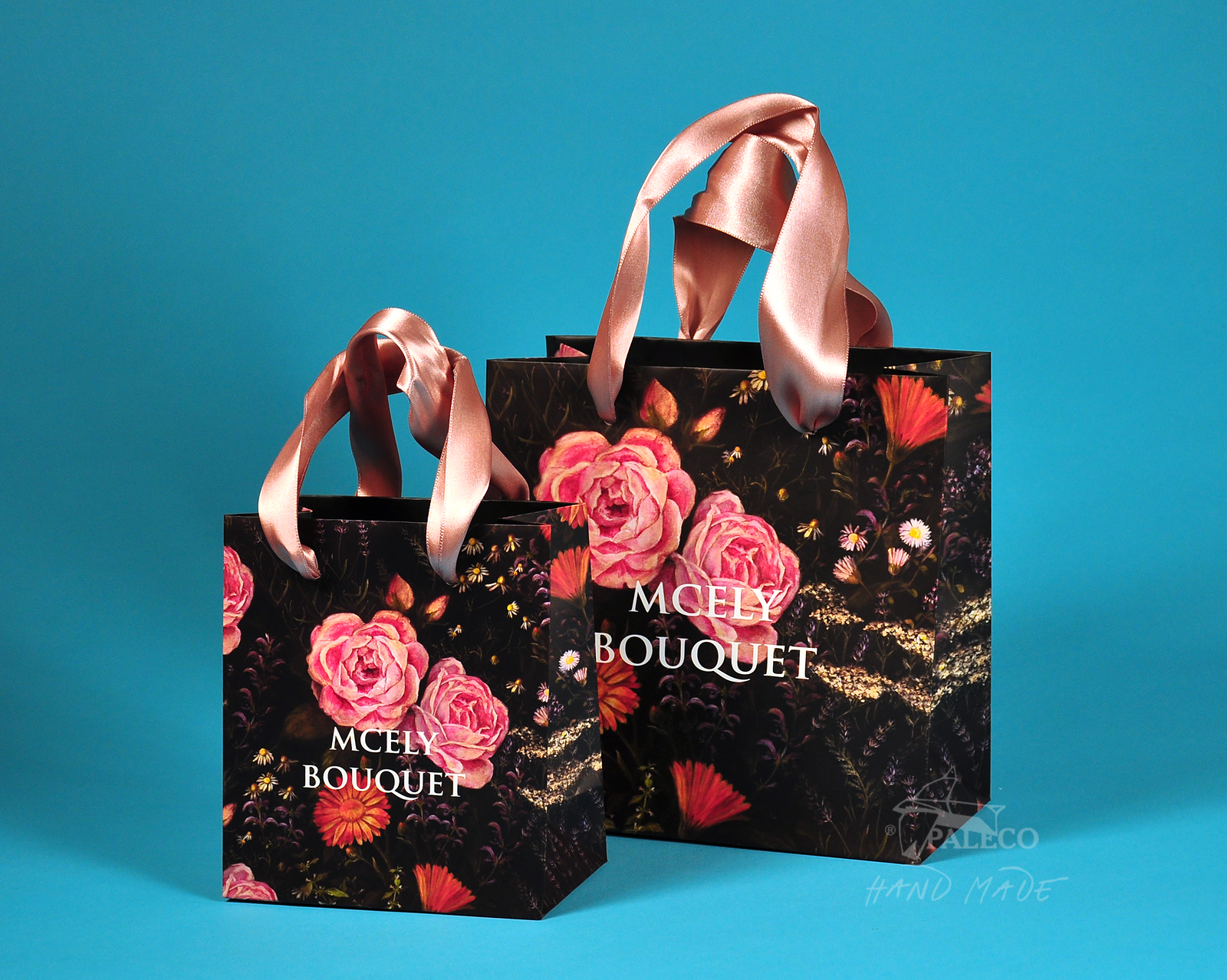 Luxusní papírová taška – Vaše reklama na procházce