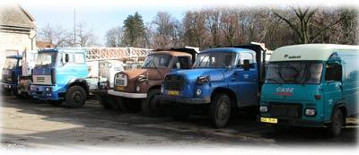 Autodoprava, stavební práce i pneuservis v Kolíně pod jednou střechou