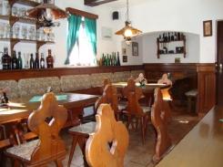 Penzion Dřevák - restaurace