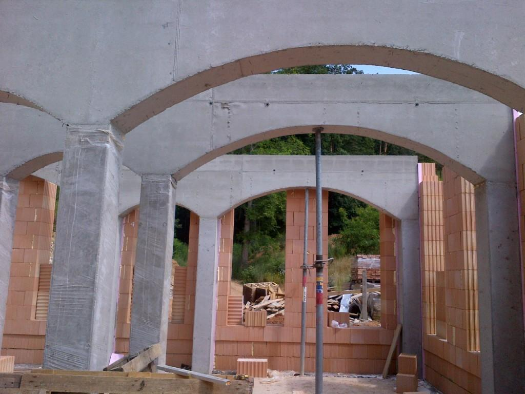 betonové stropy, překlady a konstrukce