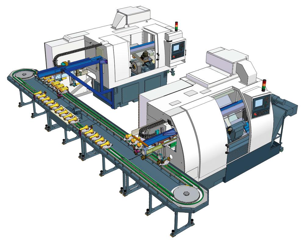 Vysoce přesné CNC stroje a kvalitní automatické výrobní linky