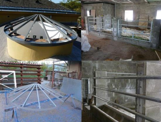 Zak�zkov� KOVOV�ROBA Her�fek vyr�b� schody i velk� ocelov� konstrukce