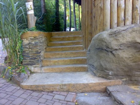 Betonová dlažba imitace kamene