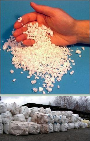 Výroba polystyrenu SEPAS - pěnový polystyren, polystyrenová drť i další výrobky