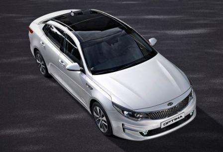 nov� Kia Optima