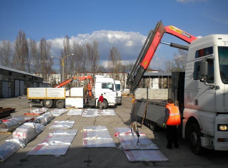 Autodoprava: Nadměrný náklad přepraví IRON SPED