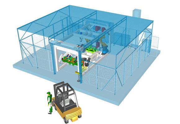 KOPR: robotizovan� pracovi�t� pro sva�ov�n� i dal�� technologie