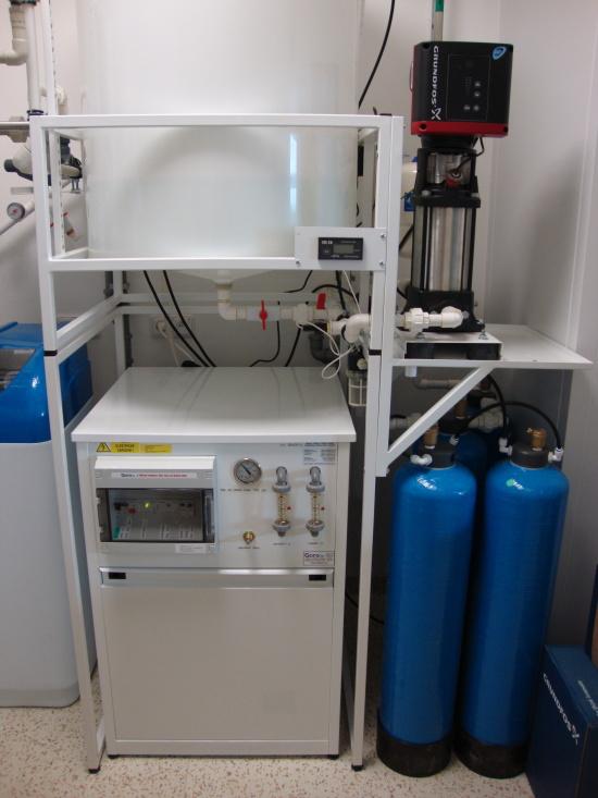 přístroje na úpravu vody