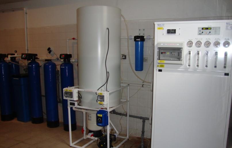 úprava čisté vody