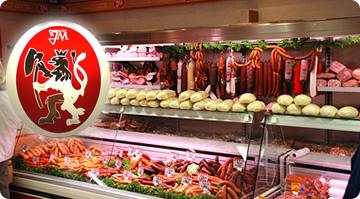 maso, uzeniny, masné výrobky