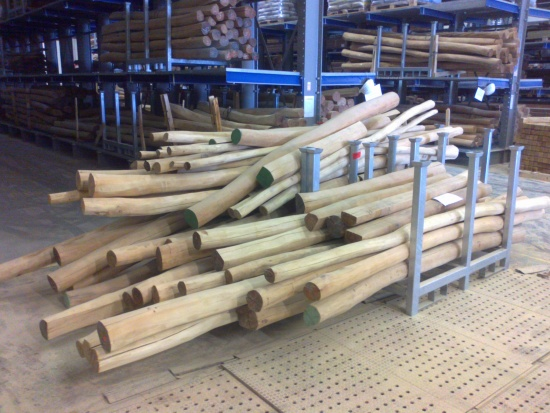 Akátové kůly, dřevěné palubky, Wood Cité, s.r.o.