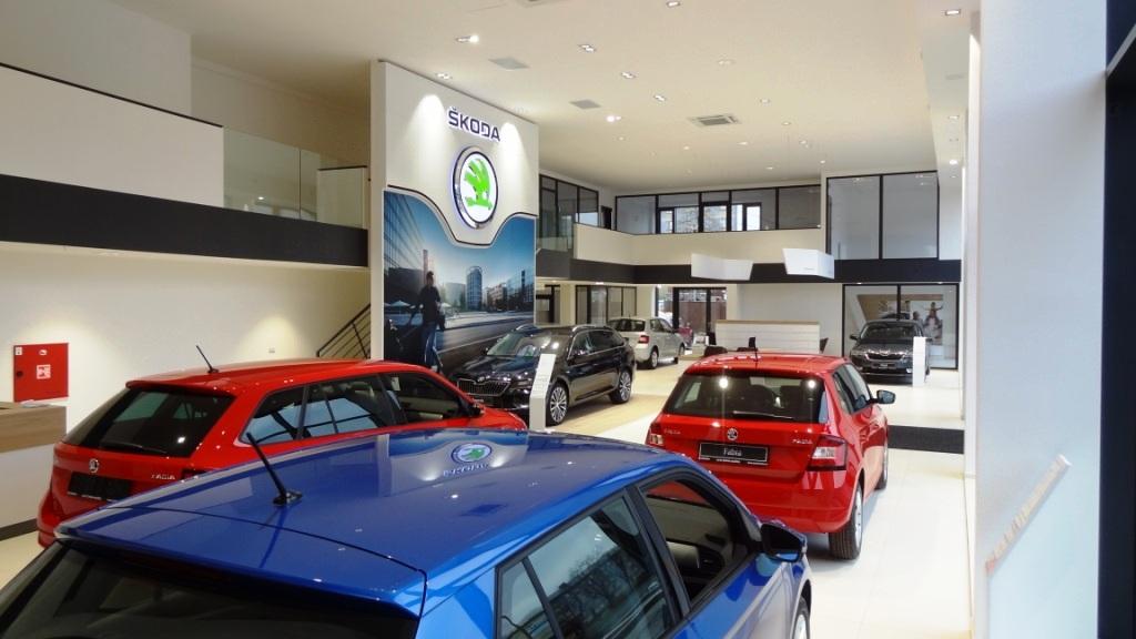autosalon Škoda Auto