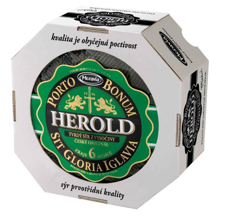 český kvalitní sýr Herold