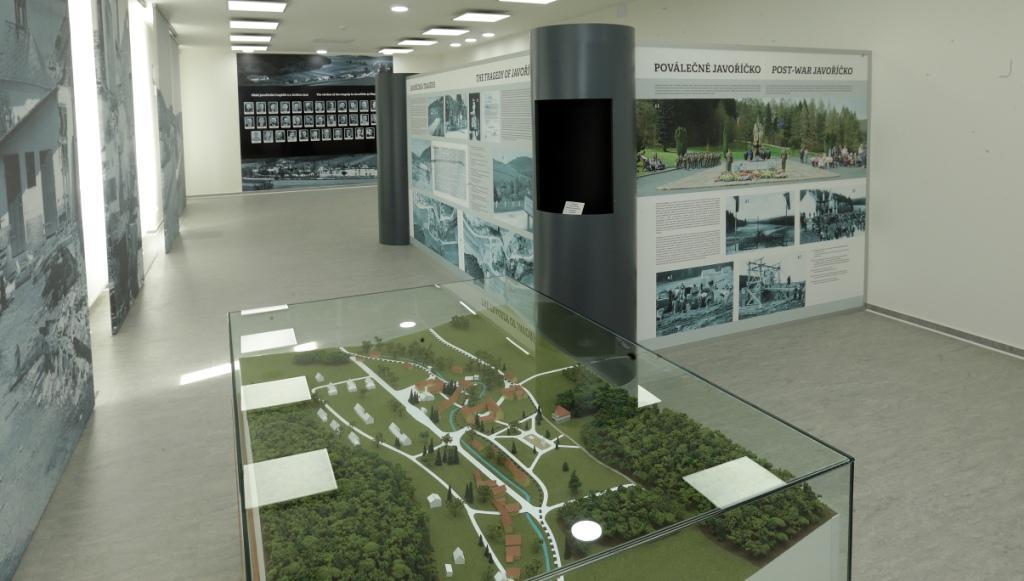 informační tabule Javoříčko