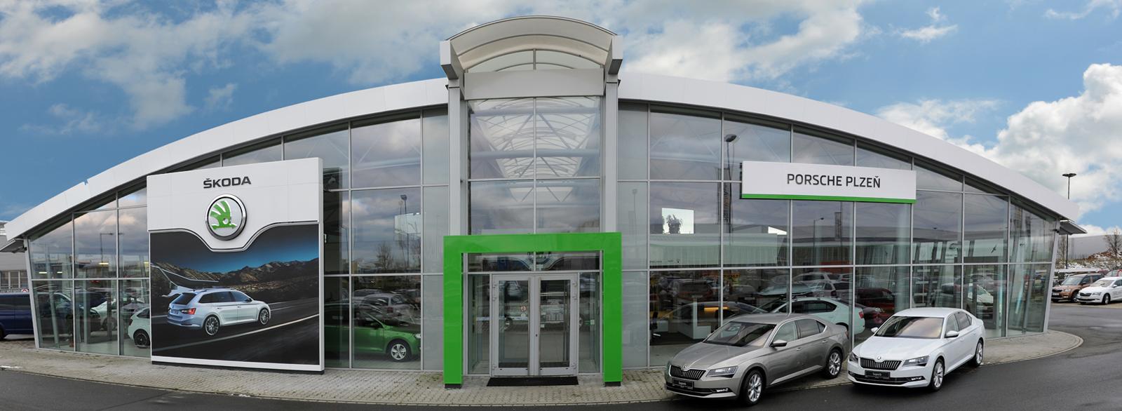 Prodej i servis voz� Volkswagen, Audi a �koda v Plzni