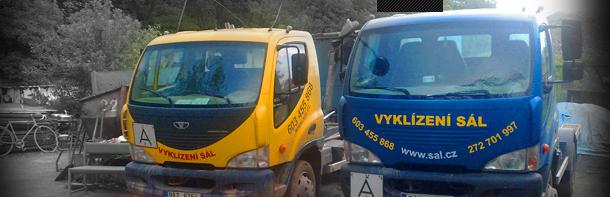 Vykl�zec� pr�ce v�etn� likvidace odpadu - Praha a okol�