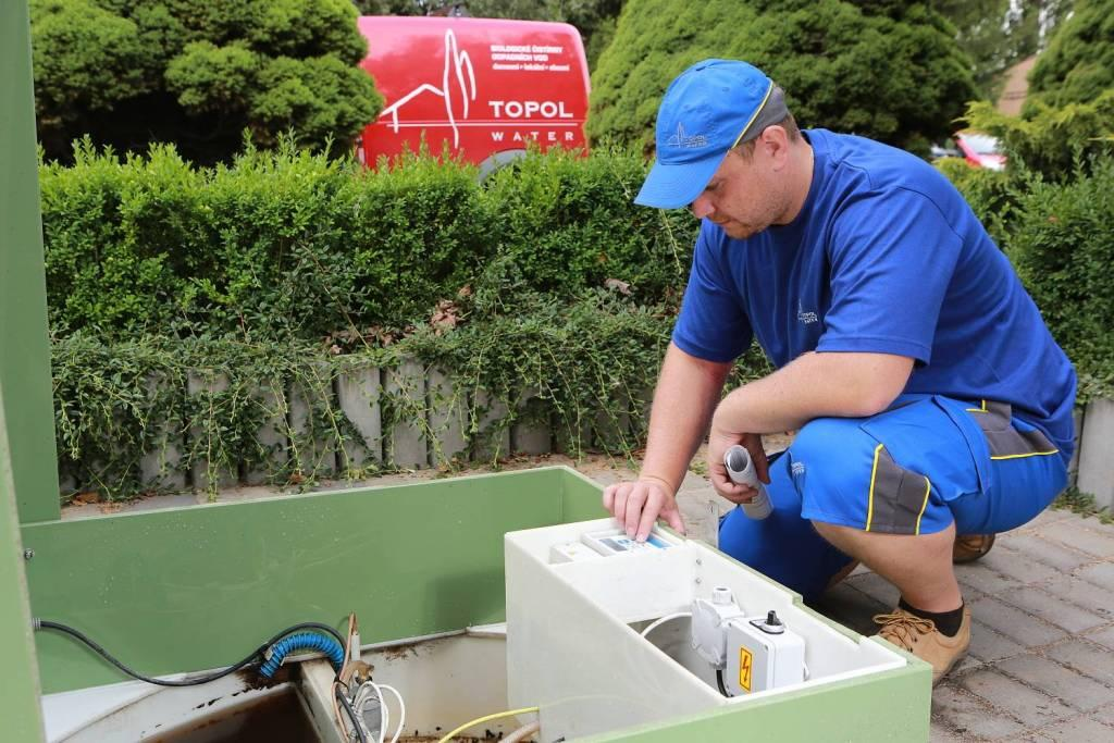 Nová domovní čistička odpadních vod TOPAS nabízí perfektní výkon pro majitele rodinných domů i chat