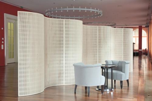 Zvlněné dukta® akustické stěny