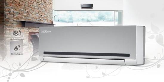 Klimatizace NORDline s invertorem � luxus, kter� si m�e dop��t ka�d�