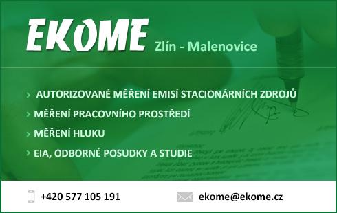 EKOME � autorizovan� m��en� emis�, hluku, ekologick� poradenstv�