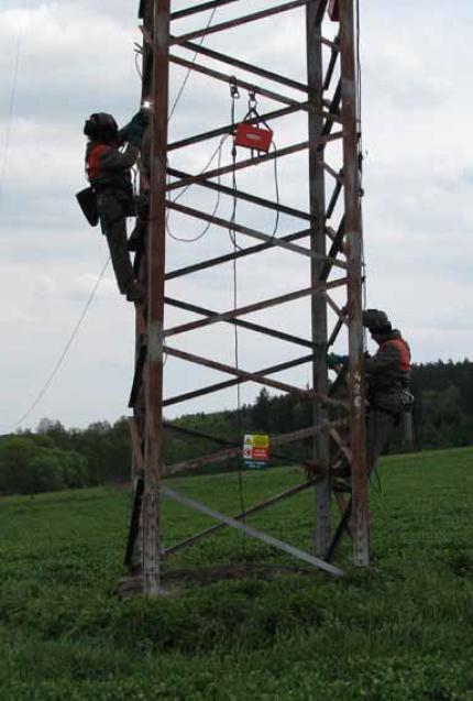 Svářečské práce na stožárových konstrukcích podléhají přísným pravidlům.