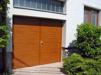 křídlová vrata garážová