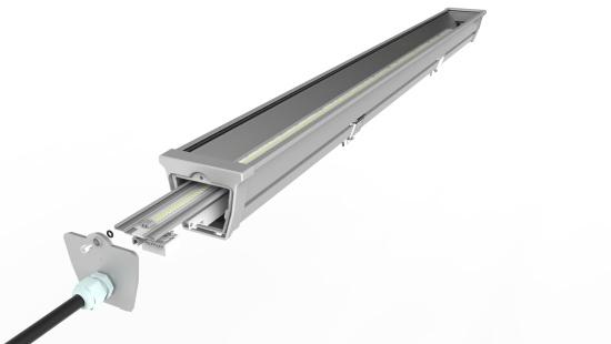 Detail chladiče s PCB pásem