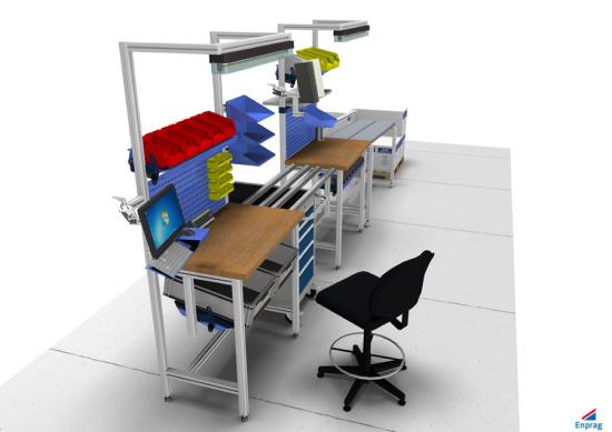 nábytek podle principů štíhlé výroby