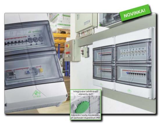 Nov� rozvad�� AKIII Air s inovativn� technologi�