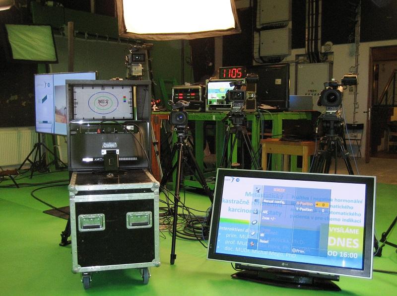 Studio s klíčovacím pozadím